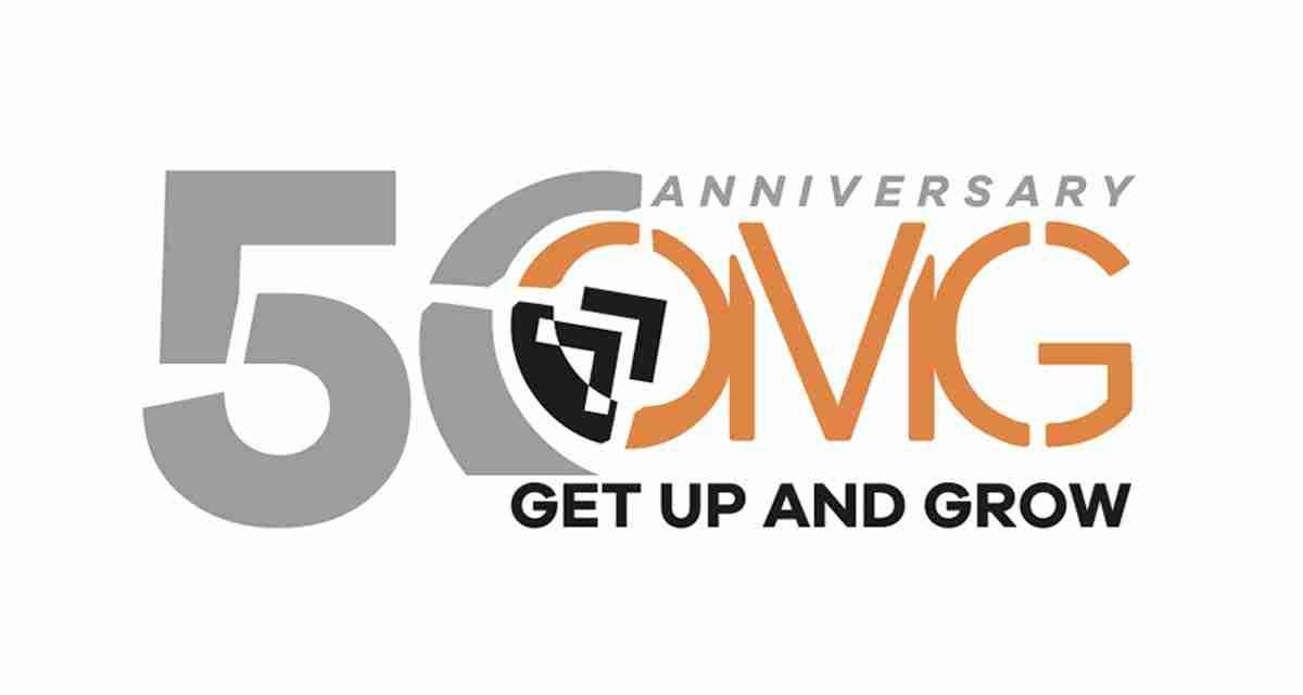 Un nuovo logo per i 50 anni di OMG