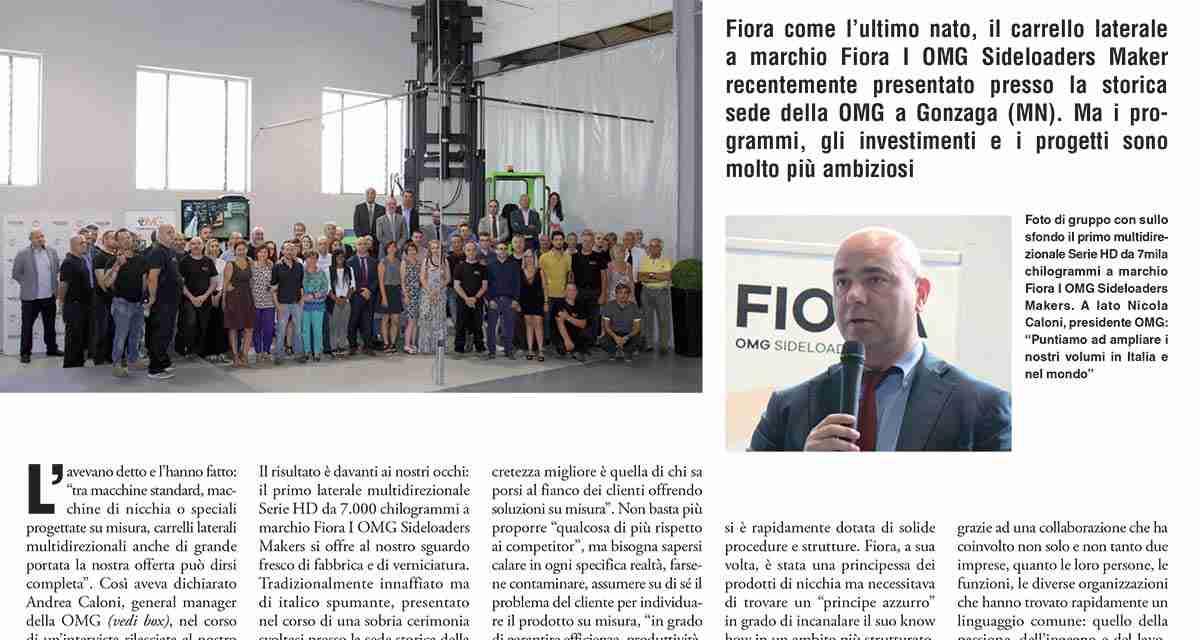 Il Giornale della Logistica: focus su OMG