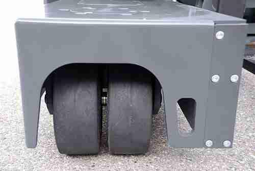 Carrelli elevatori laterali - ruote cushion