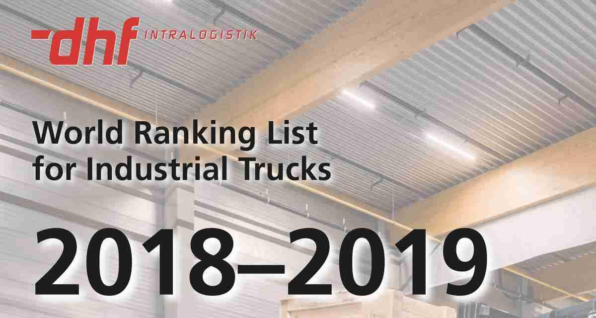 World Ranking Carrelli Elevatori 2018-2019