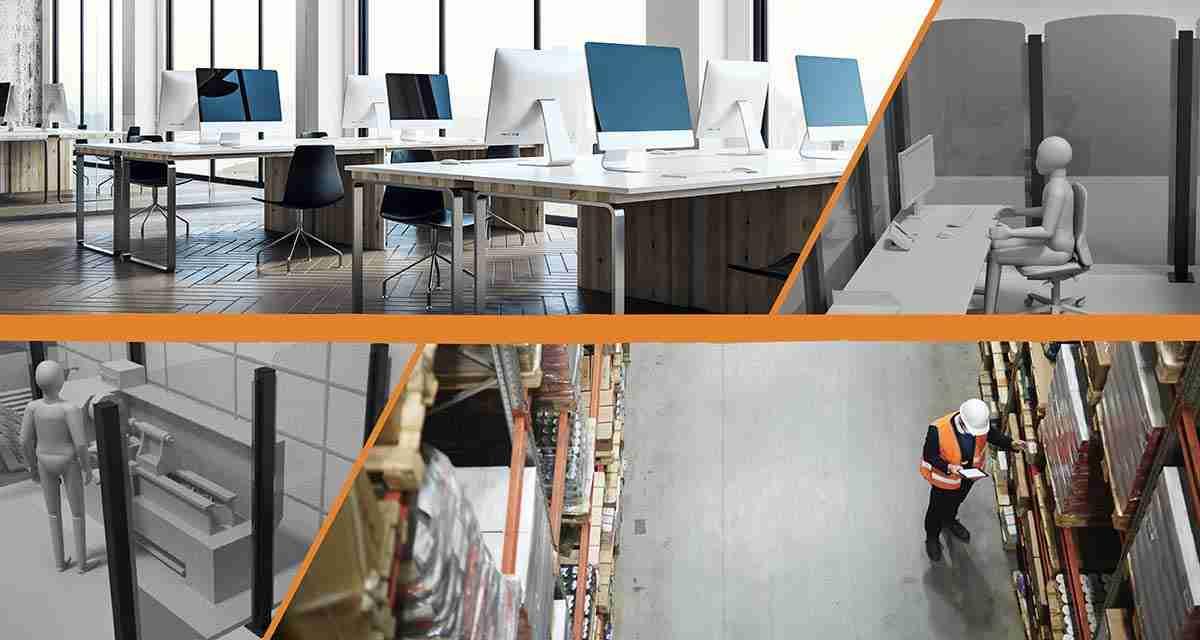 Lavorare in sicurezza: i divisori per uffici e magazzini