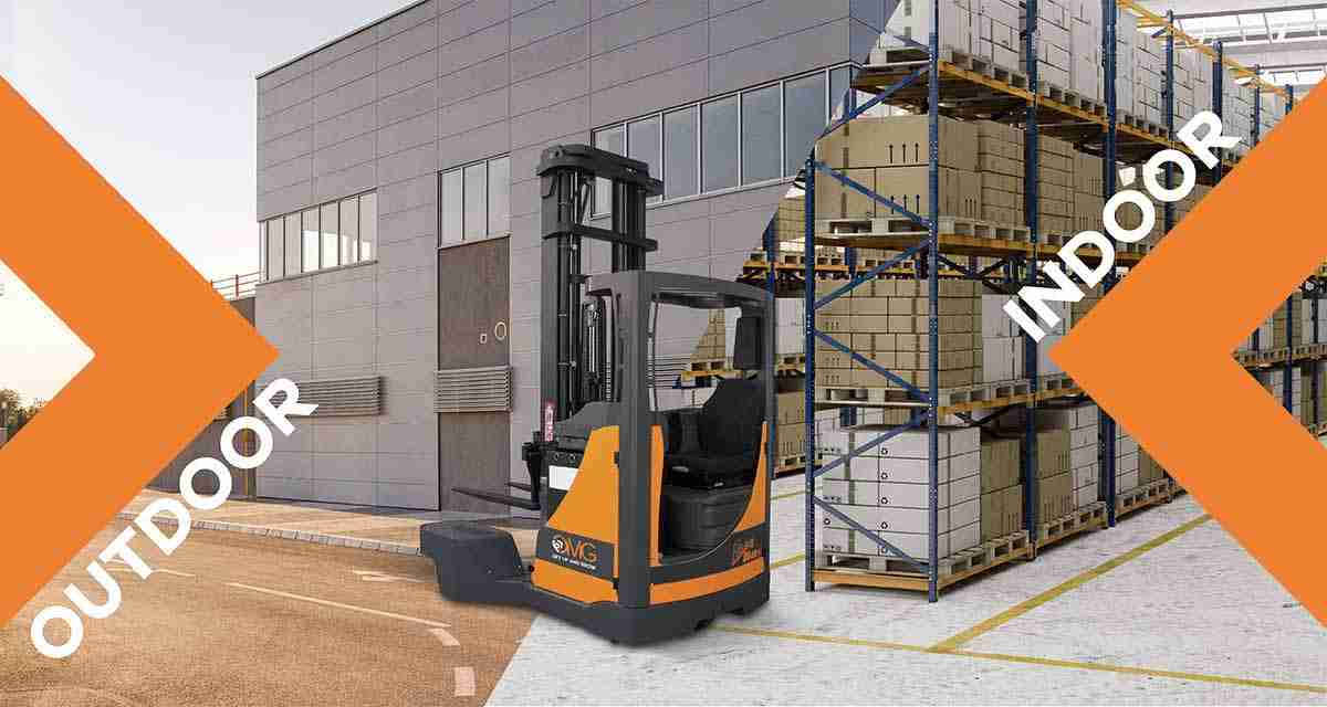 The reach trucks: a unique solution for indoor and outdoor use